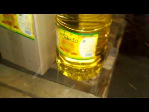 Refined sunflower oil Loading process