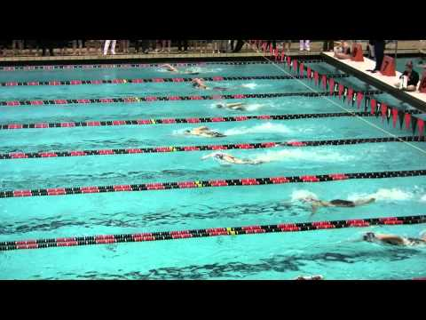 500 Free Finals Start 2011 Women's Ivy Champs