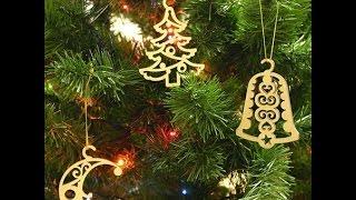 Купить новогодние игрушки сейчас не проблема, но игрушки сделанные своими руками куда более приятно. Ведь такие игрушки можно делать вместе с детьми и праздник тогда для них будет самым волшебным. Новогодние игрушки можно делать из различных материалов, однако из дерева будут самые экологичные и красивые. На нашем ролике вы можете посмотреть идеи новогодних игрушек. С наступающим вас Новым годом.