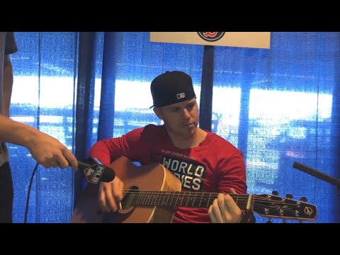Video: CFBBQ: Brock Holt shows Jake Mintz his guitar skills