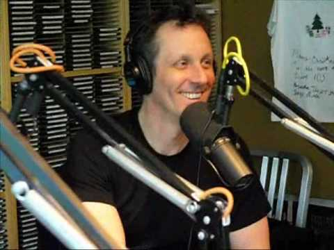 Comedian Jake Johannsen in Studio on the No Name Show on Live 105!