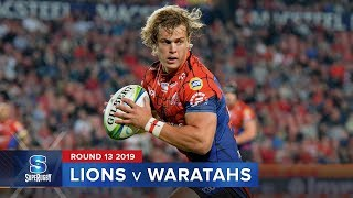 Lions v Waratahs Rd.13 2019 Super rugby video highlights | Super Rugby Video Highlights