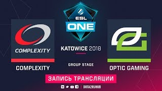 compLexity vs OpTic, ESL One Katowice, game 1 [Adekvat, V1lat]