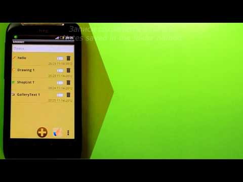 Video of Notepad