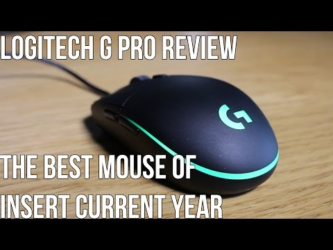Logitech G Pro Review - The Best Mouse Ever Made (DISTURBING VIDEO)