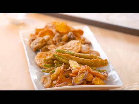 How To Fry With Extra Virgin Olive Oil (EVOO) | Fritto Misto | JOY Of KOSHER And Colavita