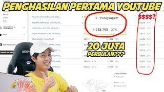 Video PULUHAN JUTA? PENGHASILAN PERTAMA YOUTUBE? 1 JT VIEWERS? MP3, 3GP, MP4, WEBM, AVI, FLV Juli 2019