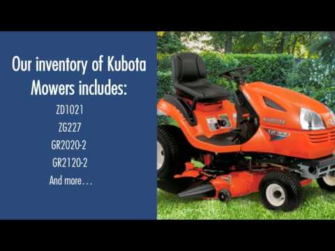 KUBOTA Riding Lawn Mower For Sale