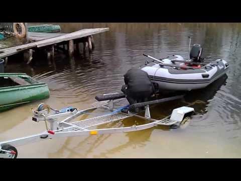 спуск лодок авто
