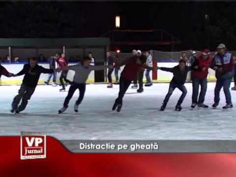Distracție pe gheață