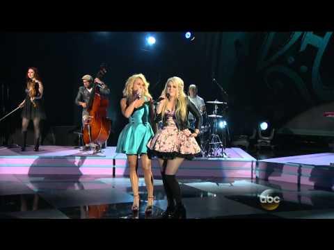 Miranda Lambert & Meghan Trainor - All About That Bass - The 48th Annual CMA Awards