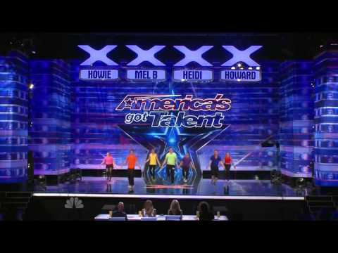 America's Got Talent 2014 – Auditions – Jumping & Flipping Acts