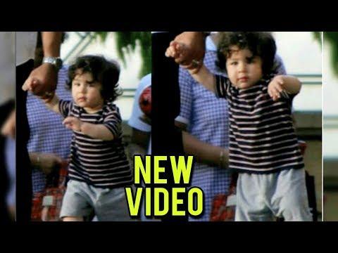 Taimur Ali Khan WALKING NEW VIDEO | Kareena Kapoor