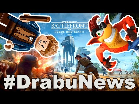 ROGUE ONE: SCARIF DLC, UPLOADPLAN, SKYLANDERS IMAGINATORS #DrabuNews Dezember 2016 (видео)