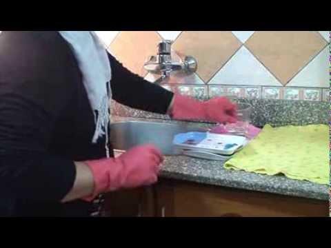 تنظيف المطبخ الجزء الأول