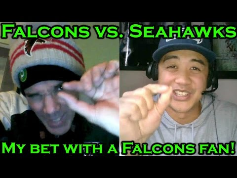 Seahawks vs. Falcons Prediction: My bet with Atlanta Falcons fan, SLITA (видео)