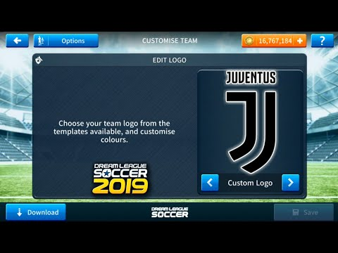 How To Import Juventus Logo And Kits In Dream League Soccer 2019