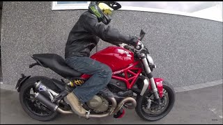 7. 2015 Ducati Monster 1200 with Termignoni Review