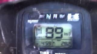 9. Kawasaki Brute Force 750 0-100