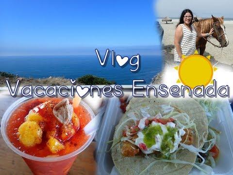 Diseños de uñas - Vlog Vacaciones Verano Ensenada-Comida, Casa De Cantinflas?!  ItzaNailsNBeauty