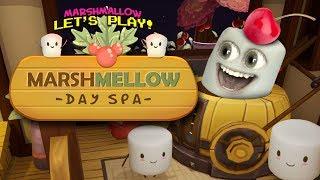 Marshmallow Plays Marshmellow Day Spa!