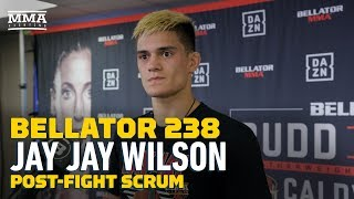 Bellator 238: Jay Jay Wilson Wants To Fight Five Times In 2020 - MMA Fighting by MMA Fighting
