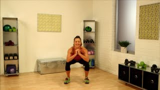 One-Minute Fitness Challenge: Squats for Women