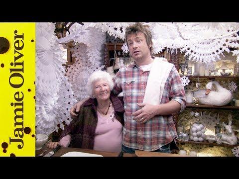 Christmas Ham & Eggs | Jamie Oliver & Nanny Betty