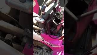6. Pink Polaris Phoenix 200cc ATV