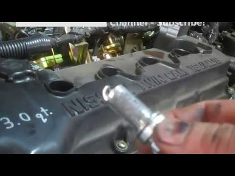 Spark plug replacement Nissan Sentra 2001 – 2012 1.8L Tune up Install Remove Replace. Ignition Coil