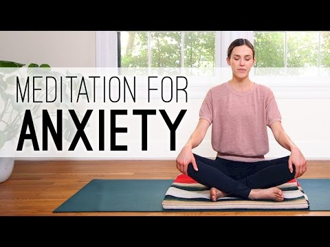 Meditation for Anxiety - Yoga With Adriene
