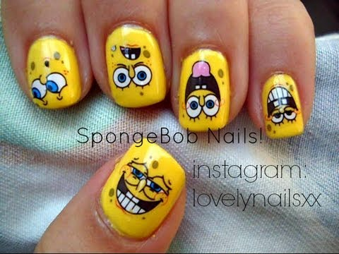 Search Results For Shocking Spongebob Nail Art Design Latest Mp3