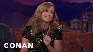 "Jenna Fischer On The New Generation Of ""Office"" Fans  - CONAN on TBS"