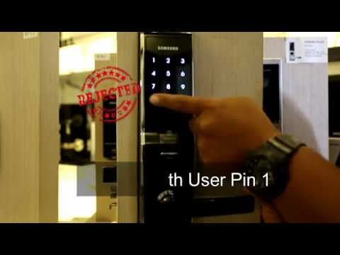 Samsung H705 Digital Lock Demo