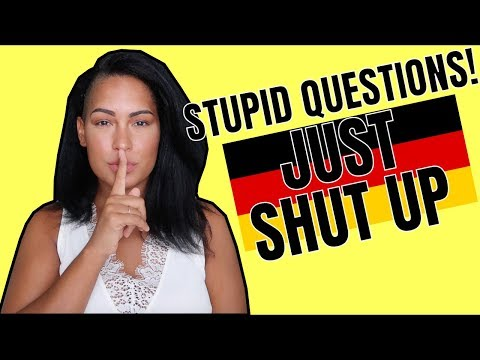 Dont Ask a German These Questions