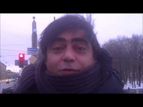 O clima no inverno russo