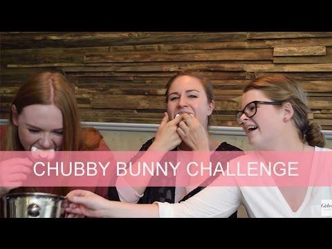 Chubby Bunny Challenge | GirlsceneNL