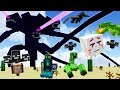 THE WITHER STORM vs EVERY MINECRAFT BOSS!!