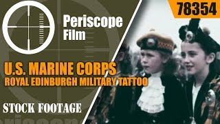 Edinburgh (IN) United States  city photos : U.S. MARINE CORPS ROYAL EDINBURGH MILITARY TATTOO 1960 SCOTLAND USMC 78354