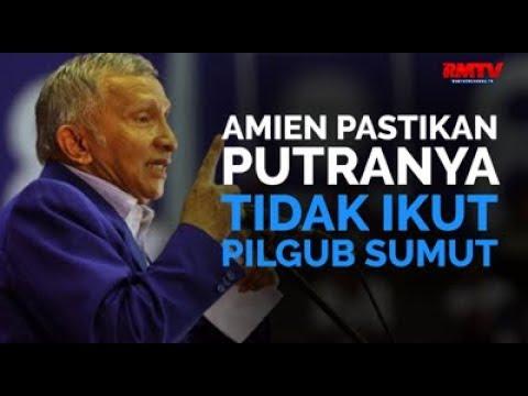 Amien Pastikan Putranya Tidak Ikut Pilgub Sumut