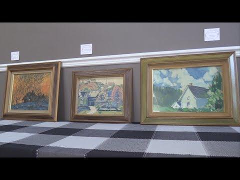 Collection de peintures de Paul-René Pariseau - Oeuvres du Père Corbeil