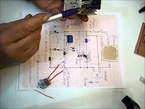Construcción de un control de potencia con un triac