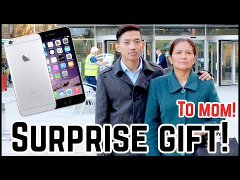 (IPHONE 6 UNBOXING I SURPRISE TO MY MOM...... 11 min)