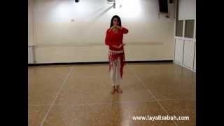 Danza del ventre online - sequenza livello open!!!