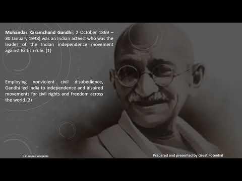 Leadership quotes - Mahatma gandhi