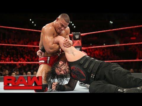 Download Roman Reigns vs. Jason Jordan - Intercontinental Championship Match: Raw, Dec. 4, 2017 HD Mp4 3GP Video and MP3