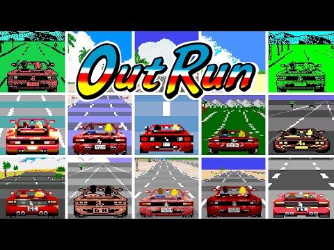 OutRun - Versions Comparison (HD 60 FPS)