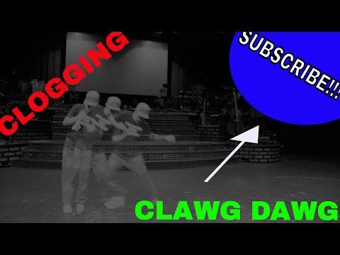 Clawg Dawg Dancing That Crazy Footwork!!!