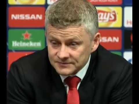 Ole gunnar solskjear post match press conference Barcelona 3-0 Manchester United.