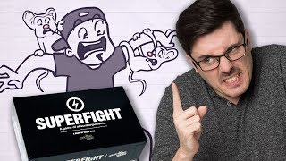 WE TAKE ON THE APOCALYPSE IN SUPERFIGHT!